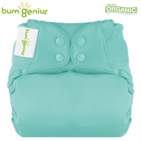 BumGenius Elemental One Size (AIO) - Mirror (Türkis)