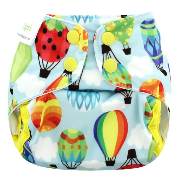 Blueberry - Capri 2.0 Überhose (Prefold) - Balloons