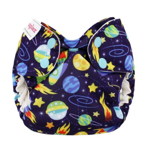 Blueberry Simplex Newborn (AIO) Bio-Baumwolle (GOTS) Space