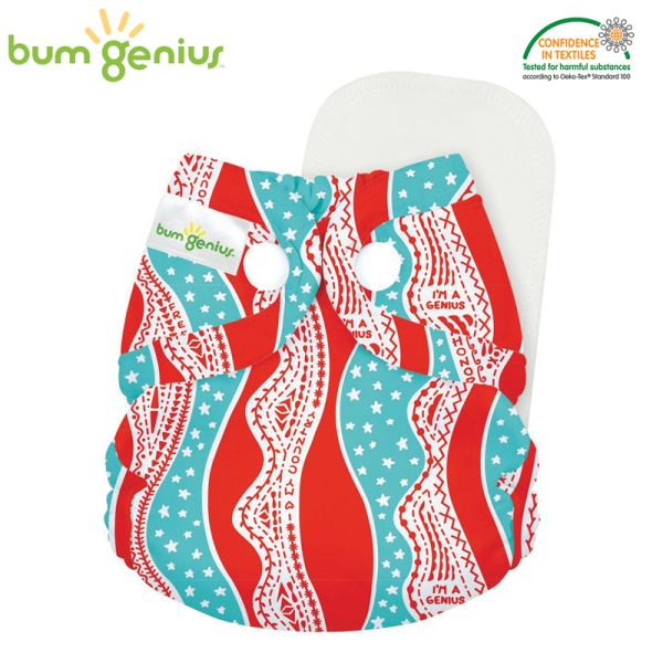 BumGenius Littles 2.0 Newborn - Mary Pickersgill (Muster)