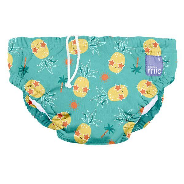 Bambino Mio - waschbare Schwimmwindel - Pineapple Party (S-XL)