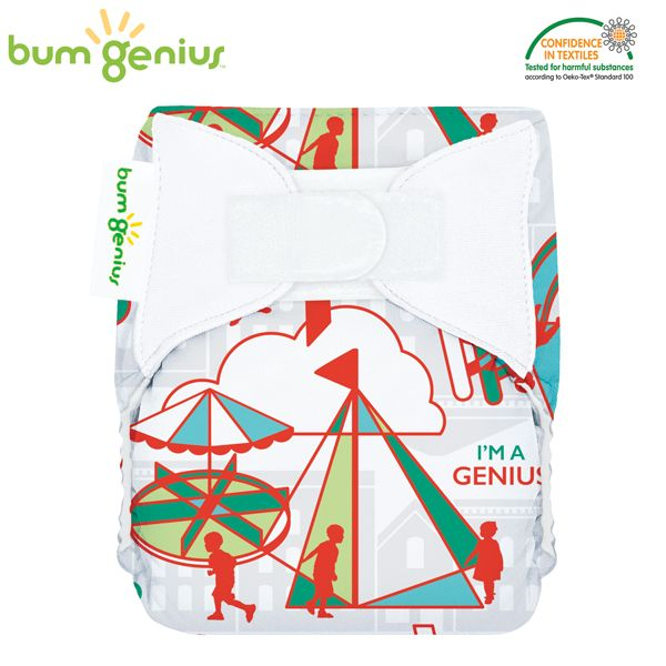 BumGenius Littles Newborn (AIO) - Play (Muster)
