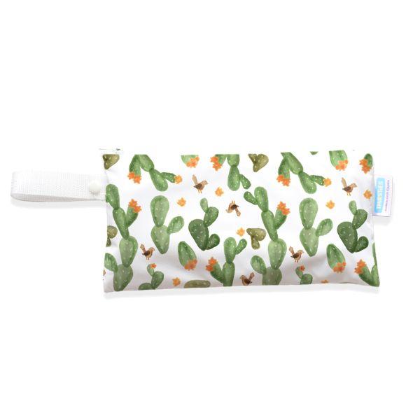 Thirsties - Clutch Bag (Handtasche & Wetbag) mit Knopf-Schlaufe - XS (14x27cm)