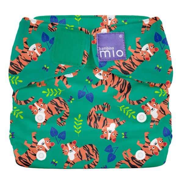 Bambino Mio - MioSolo (All-in-One) One Size Windel - Tiger Tango
