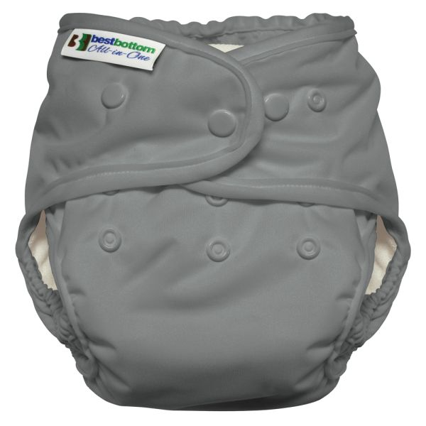 Best Bottom - Heavy Wetter AIO (One Size) - One Shade of Gray