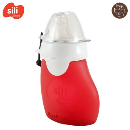 The Sili Squezze with Eeeze - 60ml (offene Tülle) - ab 2 Jahre