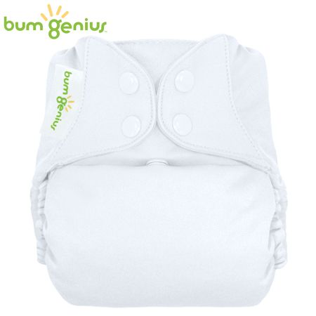 BumGenius V5.0 Pocketwindel One Size - Weiß