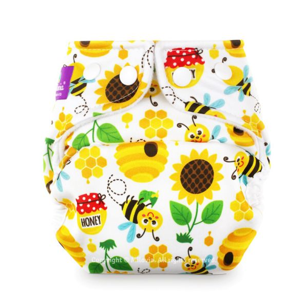 Milovia - Überhose (Prefold) - Sweet Bee