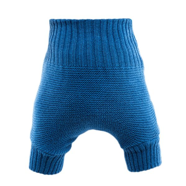 Disana - Wollüberhose (doppelt gestrickt) - Blau