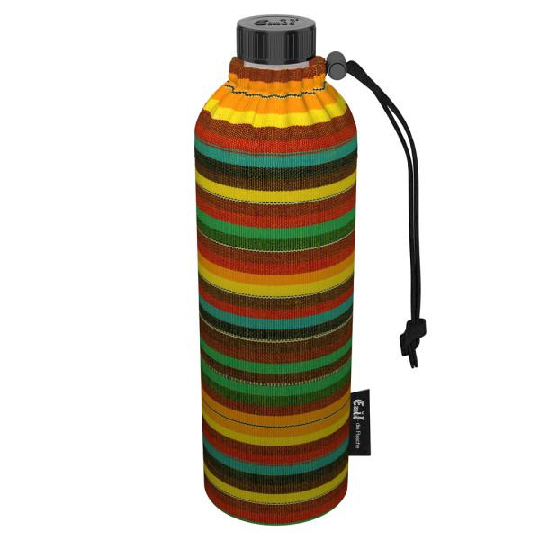 Emil die Flasche (750ml) - Komplettset (Bio-Baumwolle-Überzug) Weithals - Mexiko