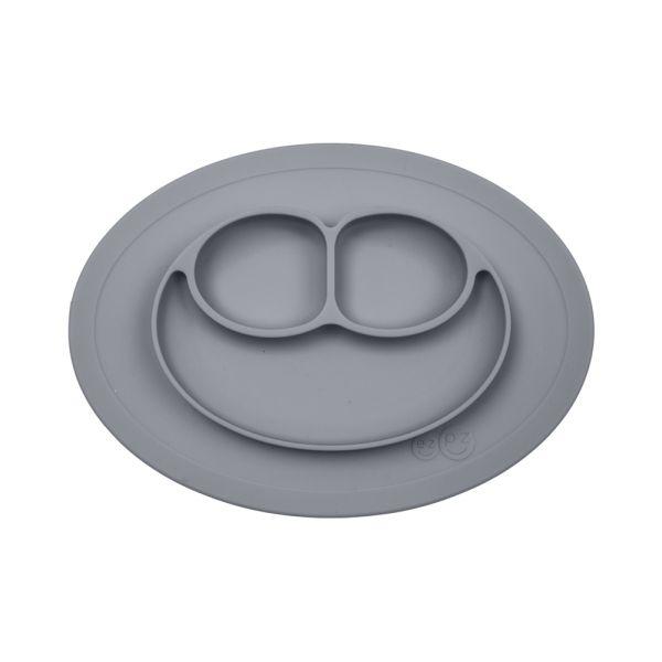 """EZPZ """"Mini Mat"""" 100% Silikon (Rutschfeste Essmatte) grau"""