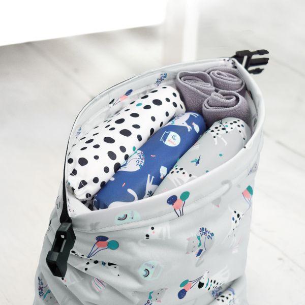 Bambino Mio - Wetbag (Windeltasche) mit Klickverschluss - (33x20 cm)