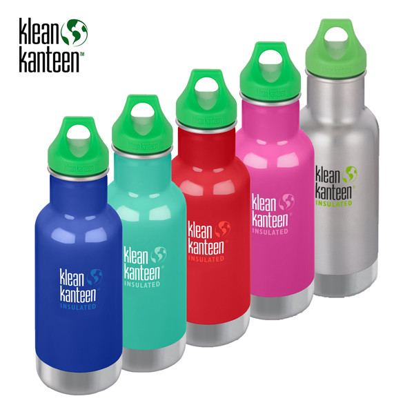 Klean Kanteen - Kid ISO-Classic - Loop Cap (355 ml)