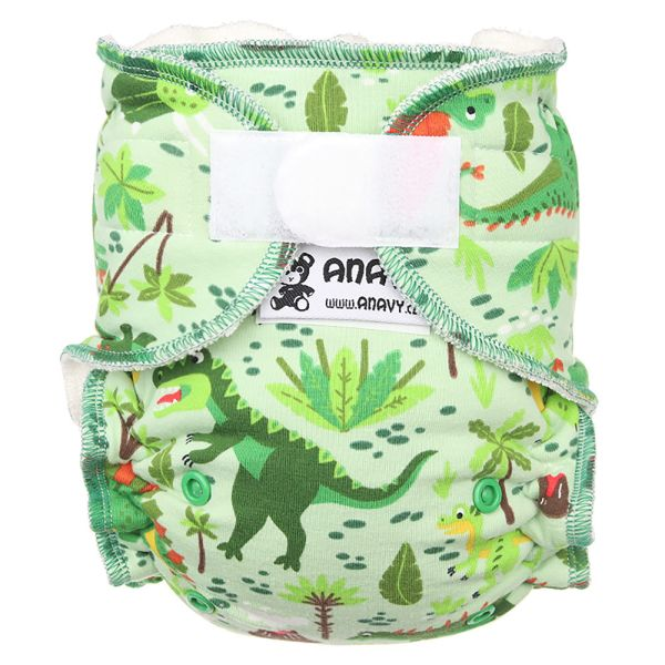 Anavy - Höschenwindeln - Dinos - One Size (3,5-15 kg)