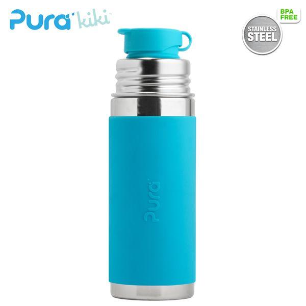 PuraSport™ Flasche 325 ml - BigMouth™ Aufsatz (inkl. Silikonüberzug)