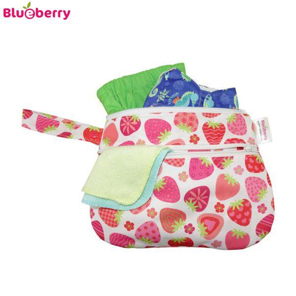 Blueberry Diaper Clutch Nasstasche/Wetbag - S - Details