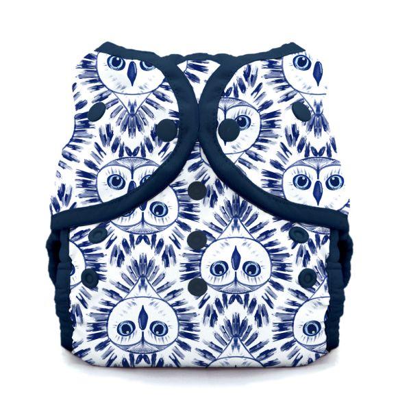 Thirsties - DUO Wrap - Überhose - Night Owl (Druck- & Klettverschluss)