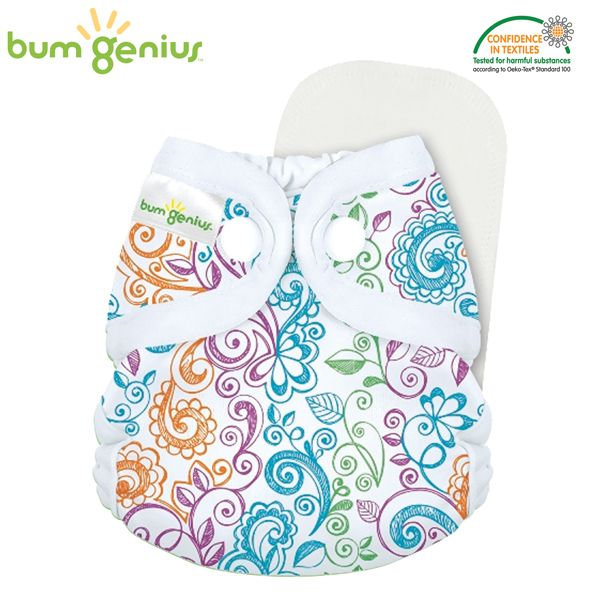 BumGenius Littles 2.0 Newborn - Lovelace (Muster)