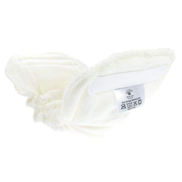 Blümchen - Saugeinlagen für Kinder & Erwachsenen Stoffwindel V2 (2in1) - Bambusviskose