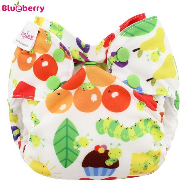 Blueberry - Simplex Newborn (AIO) - Bio-Baumwolle (GOTS) - Picnic