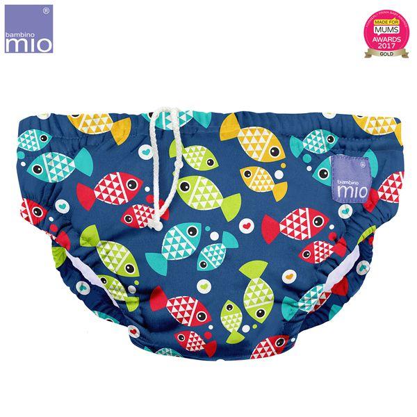 Bambino Mio - waschbare Schwimmwindel - Aquarium (S-XL)