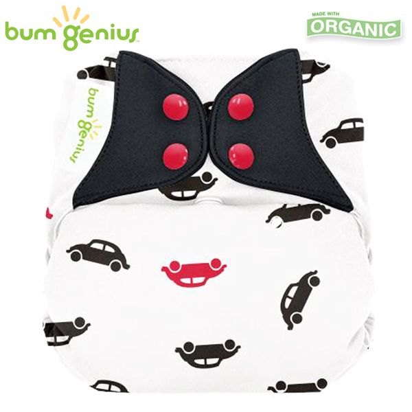 BumGenius Elemental V3.0 One Size (AIO) - Stop (Muster)