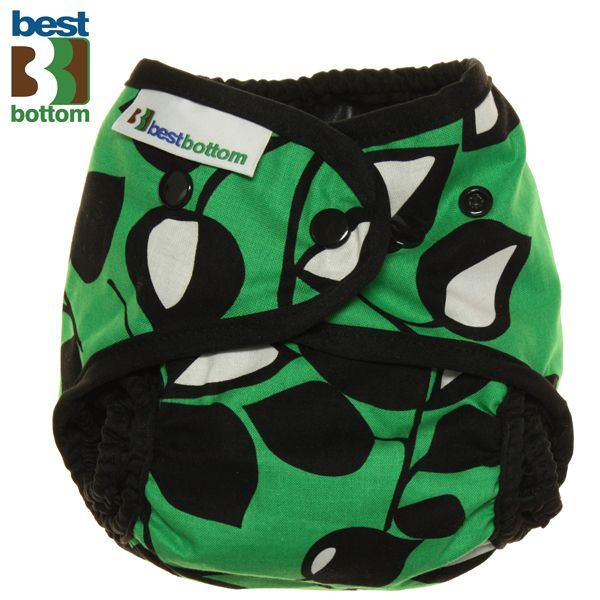 Best Bottom - Überhose (SIO) One Size (3-16 kg) - Baumwolle - Leaf