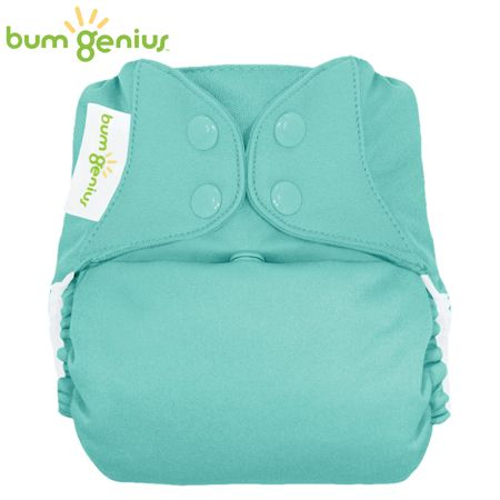BumGenius V5.0 Pocketwindel One Size - Mirror (Türkis)