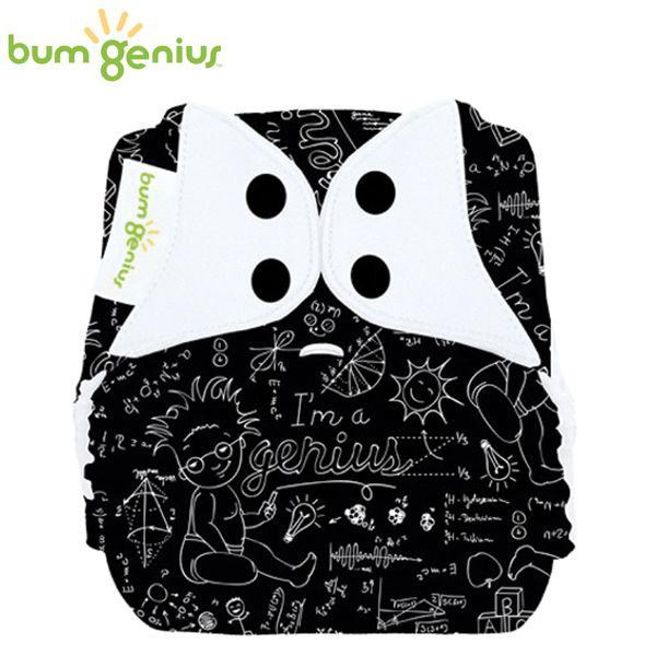 BumGenius V5.0 Pocketwindel One Size - Albert (Muster)