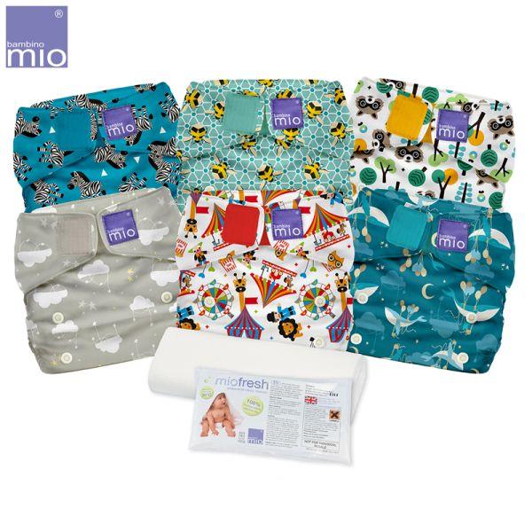 Bambino Mio - MioSolo Sparpaket (6 Windeln & Gratis Zubehör)