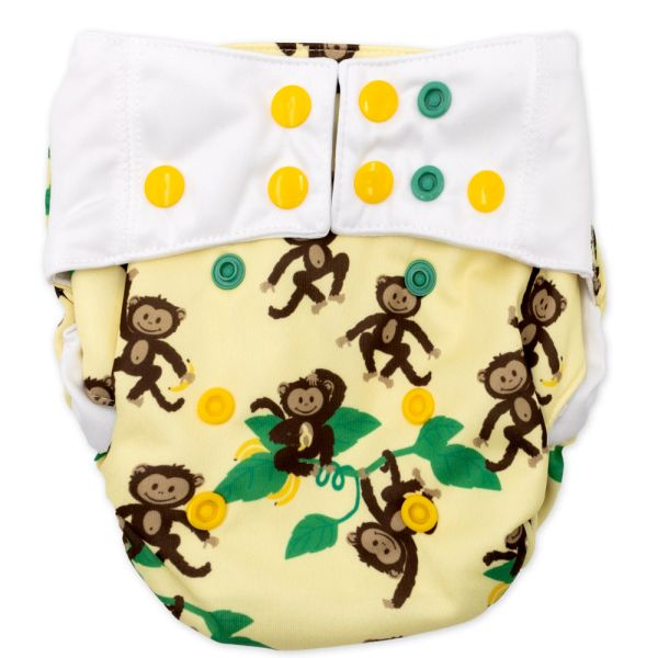 Mommy Mouse - SIO-Überhose (One Size) - Affen