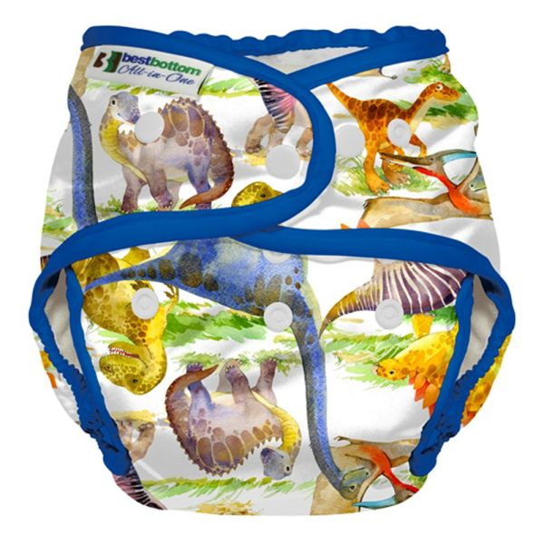 Best Bottom - Überhose (SIO) BIGGER (XL 5-20+ kg) - PUL - Dino Mite