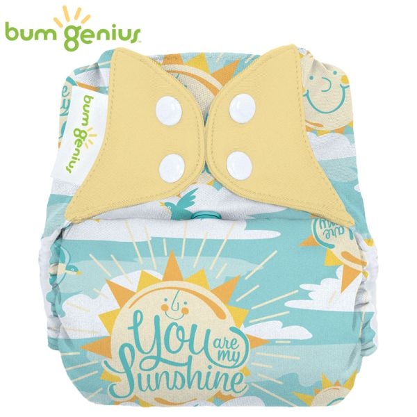 BumGenius V5.0 Pocketwindel One Size - My Sun (Muster)