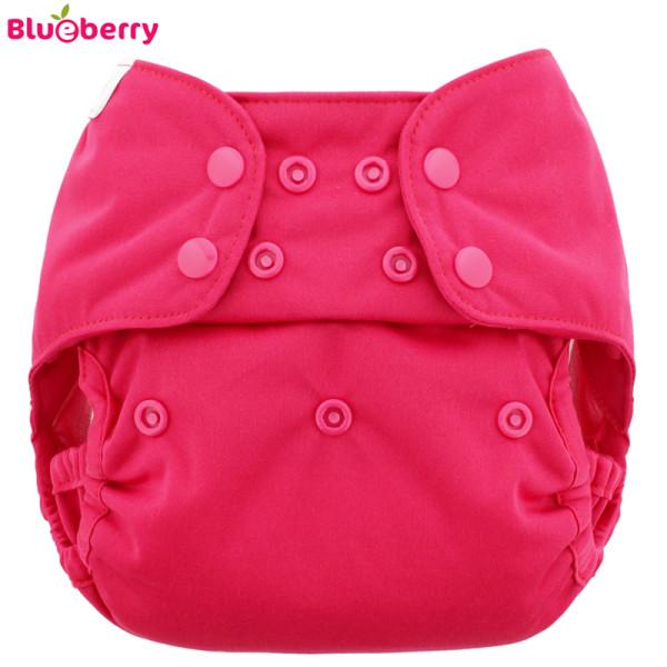 Blueberry - Capri 2.0 Überhose (Prefold) - Pink (Raspberry)