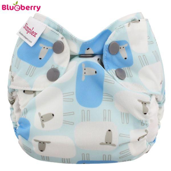 Blueberry Simplex Newborn (AIO) - Sleepy - (Bio-Baumwolle)