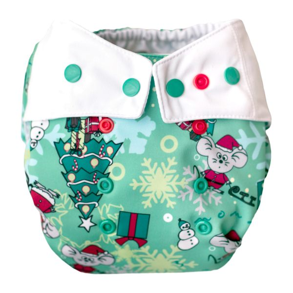 Mommy Mouse - Überhose (One Size) - Christmas