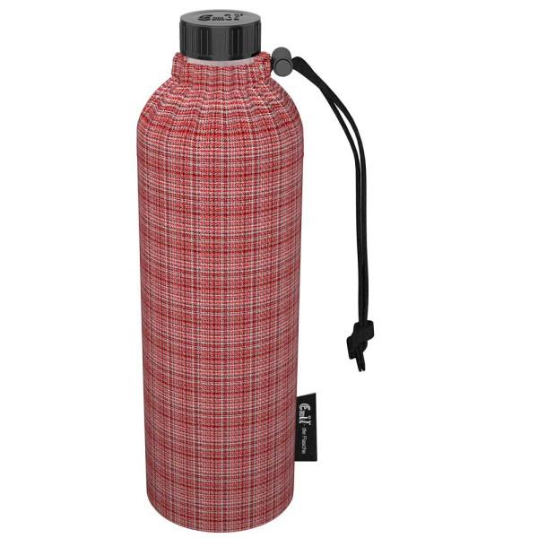 Emil die Flasche (400ml) - Komplettset (Bio-Baumwolle-Überzug) Weithals - Genova