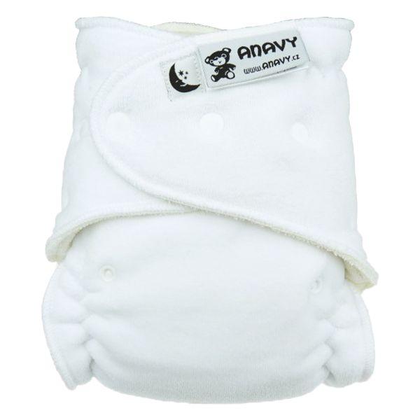 Anavy - Höschenwindel (XL-Nachtwindel) 7-18 kg - (ohne Einlagen) - Weiß