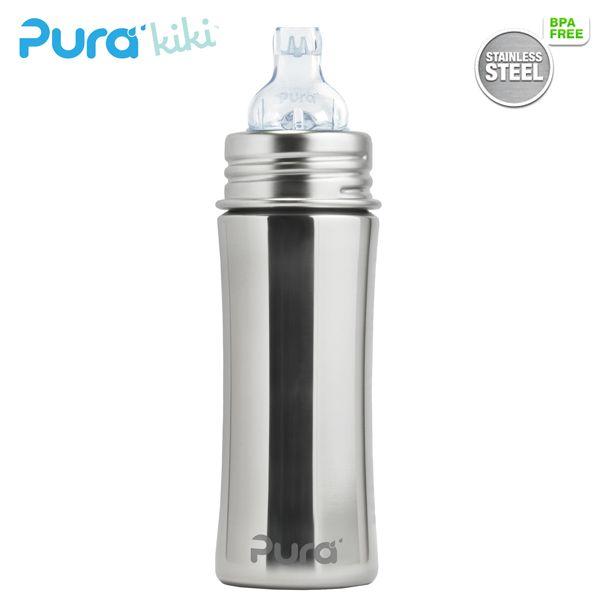 Pura Kiki Trinklernflasche - 325ml - XL Trinklernaufsatz (inkl. Schutzkappe)