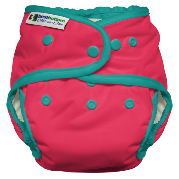Best Bottom - Heavy Wetter AIO (One Size) - Rosa