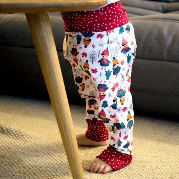 Culla di Teby - Maxaloones Stoffwindel-Kinderhosen (Bio-Baumwolle) 7-36 Monate (Universalgröße)
