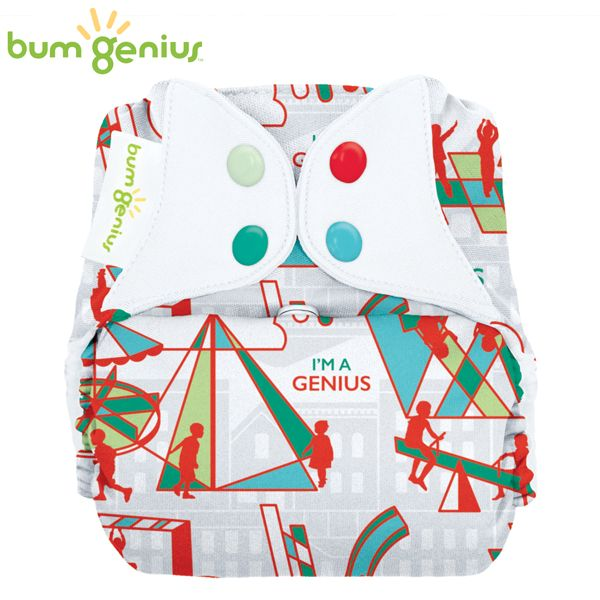 BumGenius V5.0 Pocketwindel One Size - Play (Muster)