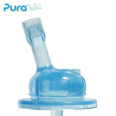 Pura Kiki Sportaufsatz mit Strohhalm aus Silikon