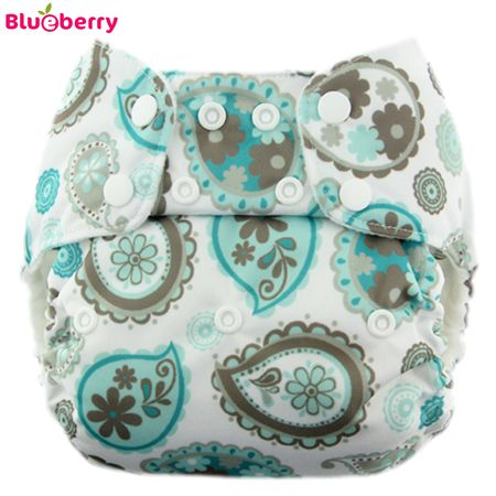 Blueberry Deluxe Pocket - Paisley (ohne Einlagen)
