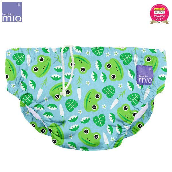 Bambino Mio - waschbare Schwimmwindel - Leap Frog (S-XL)