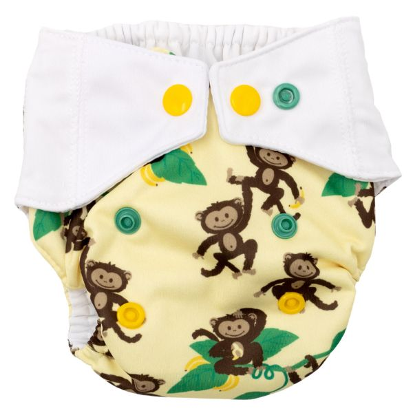 Mommy Mouse - Überhose (Newborn, One Size, XL) - Affen