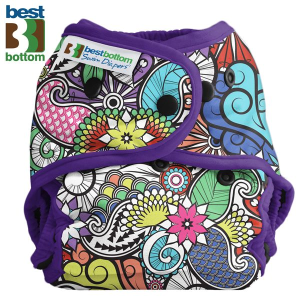 Best Bottom - Schwimmwindel (One Size) - Oasis
