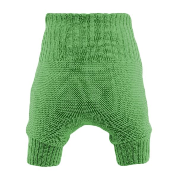 Disana Wollüberhose doppelt gestrickte Merinowolle - Grün