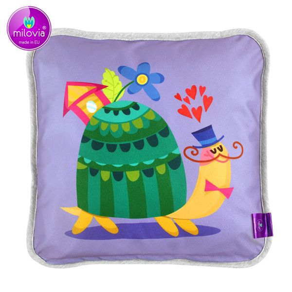 Milovia Milopiq® - Kids Kissen - Lovely Turtle (40x40 cm)
