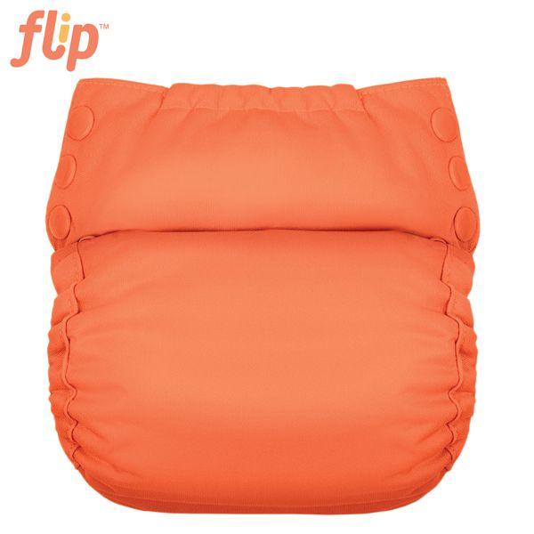 Flip Trainer One Size (Druckies) - Kiss / graue Einsätze
